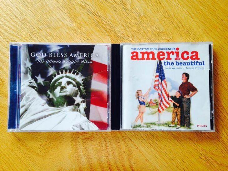 patriotic music CD's