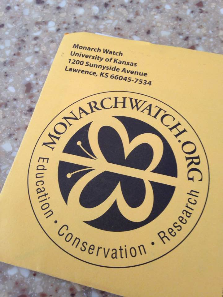 Monarch Watch Envelope