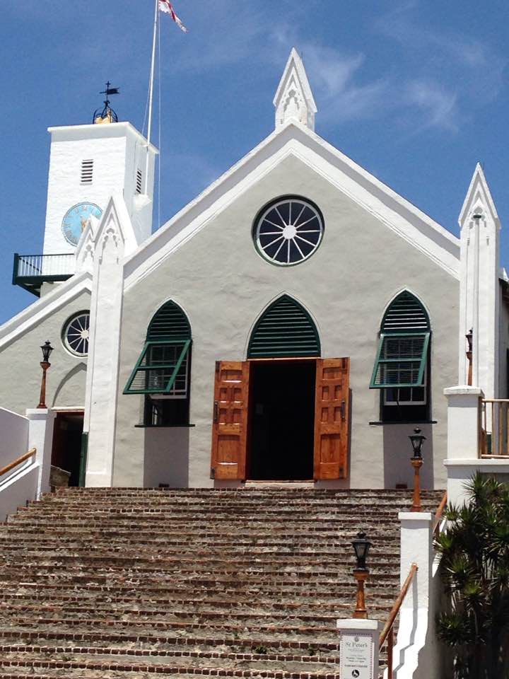 St. Peter's Church in St. George 2017