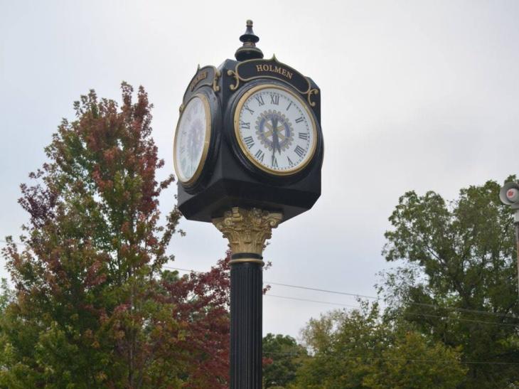 Holmen Rotary Clock