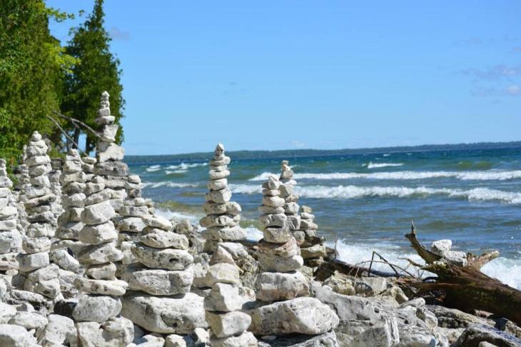wm door county shoreline