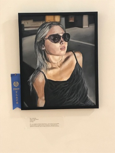 """Golden Hour"" Wins the Regional Congressional Art Competition for 2019. On Display in the U.S. Capitol Building."