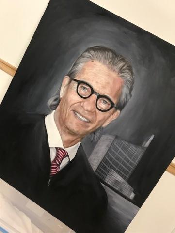 Commissioned Portrait of the Hon. Judge William M. Skretny, Buffalo, NY.