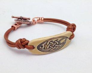 Celtic Fish Bracelet